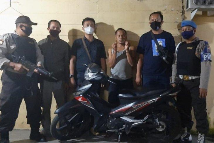 Maling motor di Simalungun, ditangkap di Riau