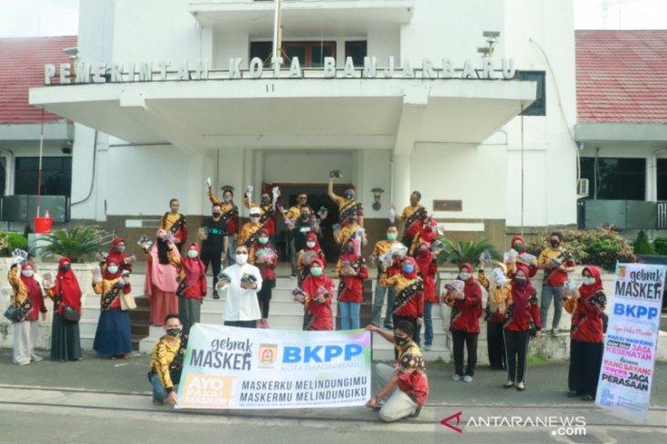 Gebrak Masker libatkan seluruh SOPD Pemkot Banjarbaru