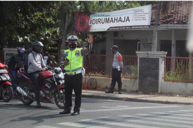 Razia lalu lintas di jalanan ditiadakan