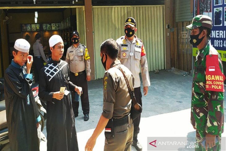 Operasi Yustisi Perwali fokus di kelurahan berzona merah