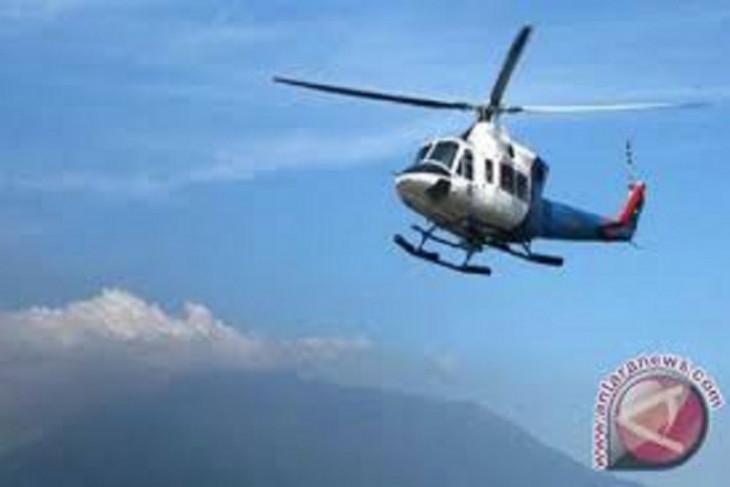 Helikopter angkatan laut Amerika Serikat jatuh