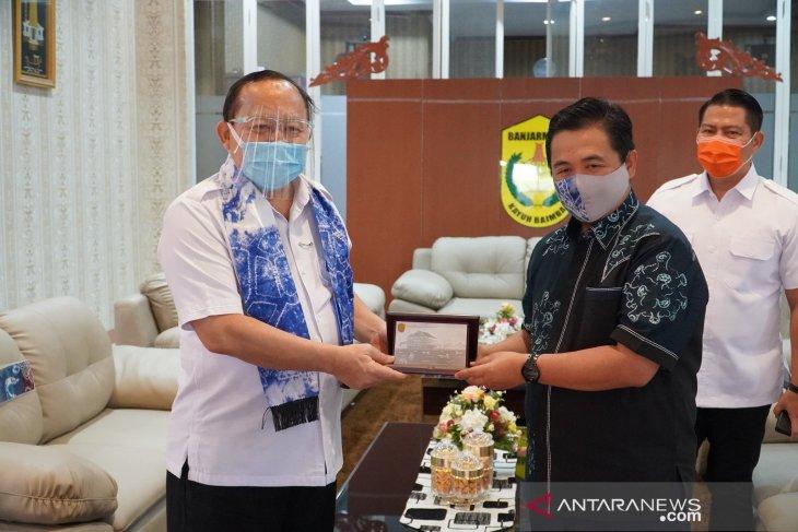 Wali Kota Banjarmasin menerima kunjungan silaturahim dari Deputi BNN