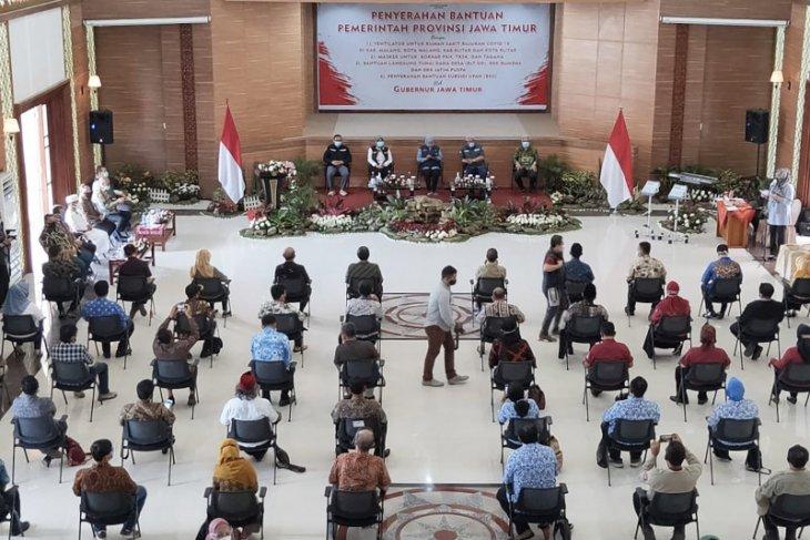 Rumah sakit rujukan COVID-19 di Malang dan Blitar dapat bantuan ventilator