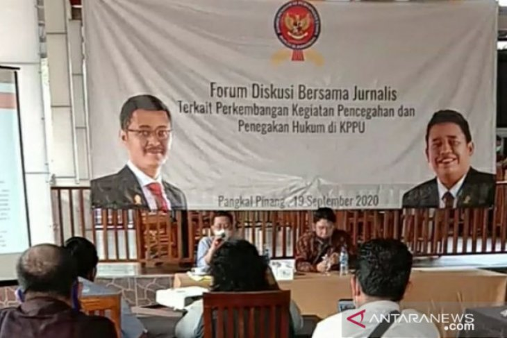 KPPU gelar forum diskusi bersama jurnalis