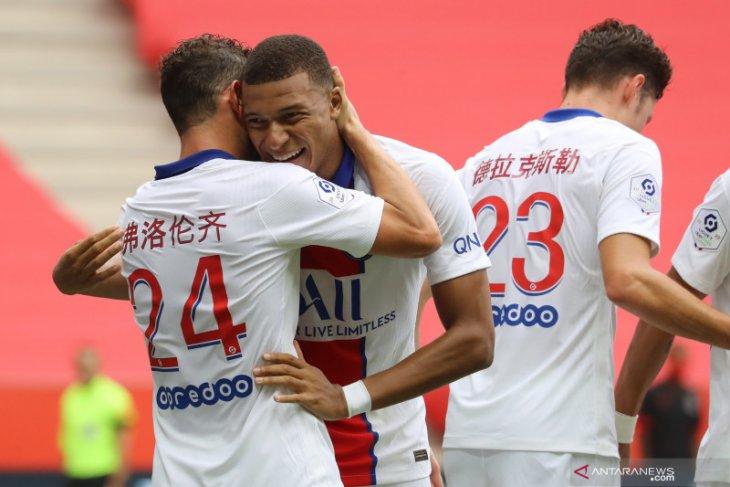 PSG kalahkan tuan rumah Nice 3-0