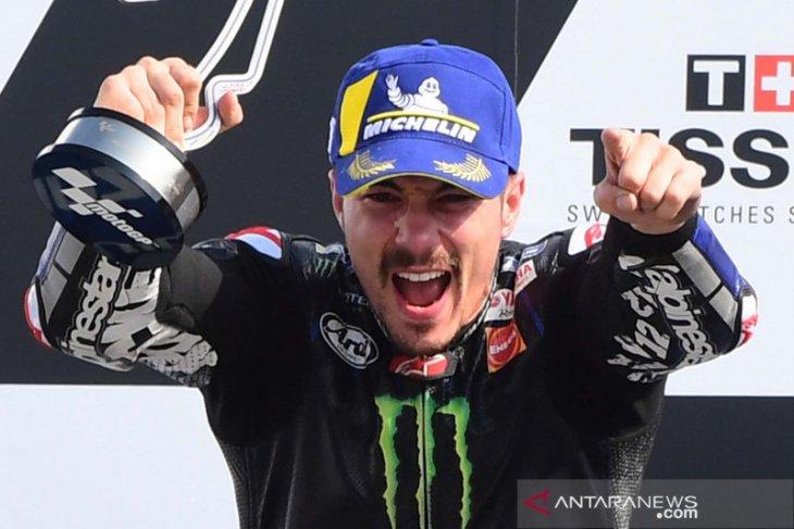 Maverick Vinales tercepat di sesi latihan GP Aragon