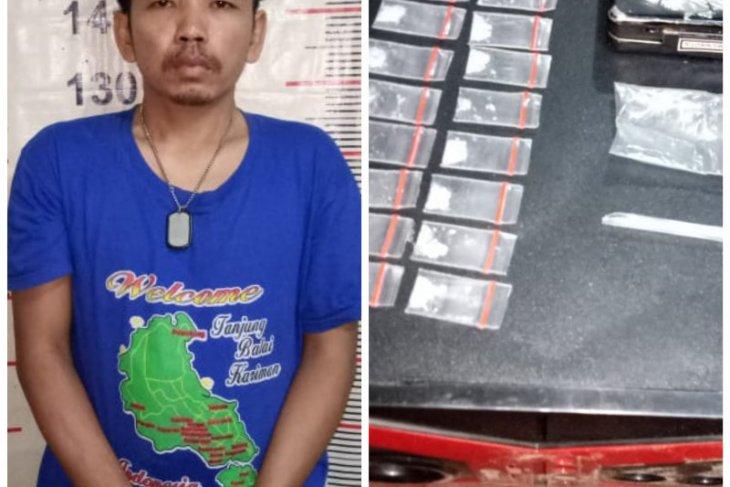 Polsek Padang Tualang Langkat tangkap bandar sabu-sabu Batang Serangan dari dalam kamarnya