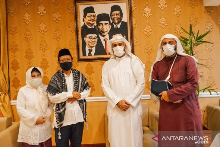Mahfud MD terima kunjungan Syekh Ali Jaber