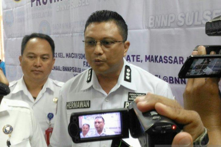 Oknum polisi jadi tersangka narkoba, sempat cabut badik saat ditangkap