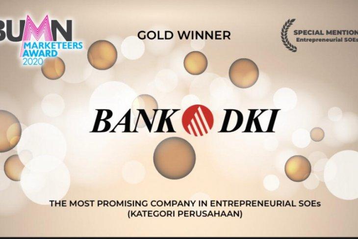 Bank DKI raih tiga penghargaan BUMD Marketeers Award 2020