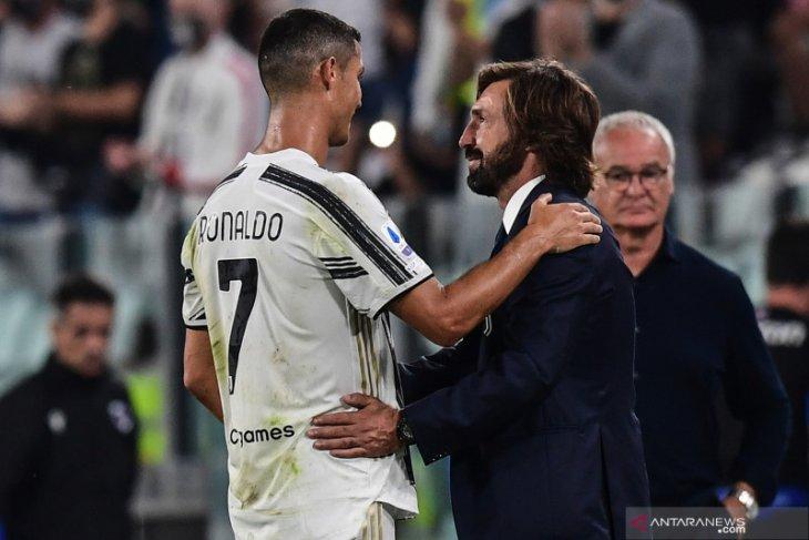 Hasil Liga Italia, Juve era Pirlo memulai musim dengan kemenangan 3-0 atas Sampdoria