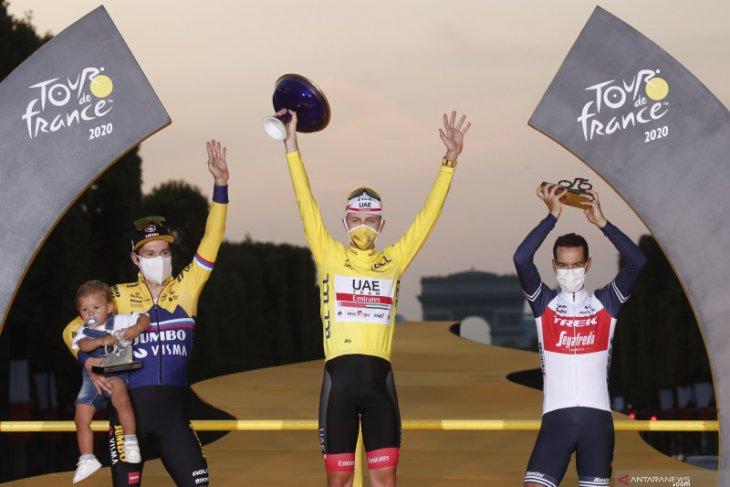 Pogacar pastikan gelar juara Tour de France
