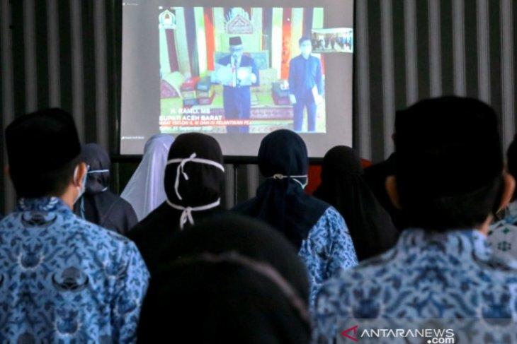 Bupati Aceh Barat lantik Marhaban sebagai Sekretaris Daerah