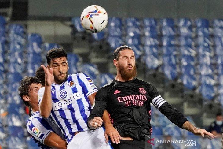 Real Madrid mulai musim dengan jamu Sociedad, hasil imbang tanpa gol