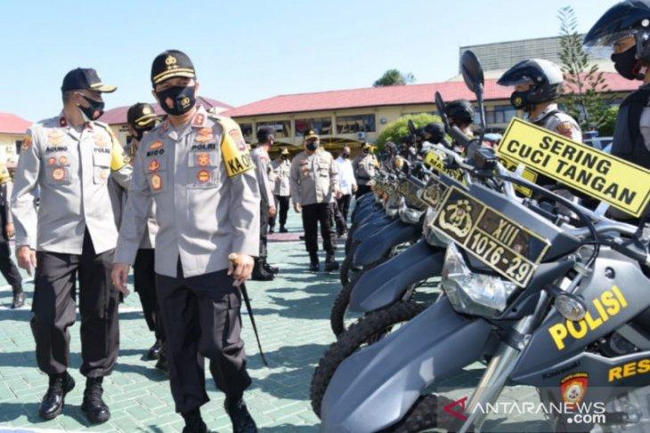 Kapolda Kalsel ingatkan sanksi pidana terhadap pelanggar protokol kesehatan