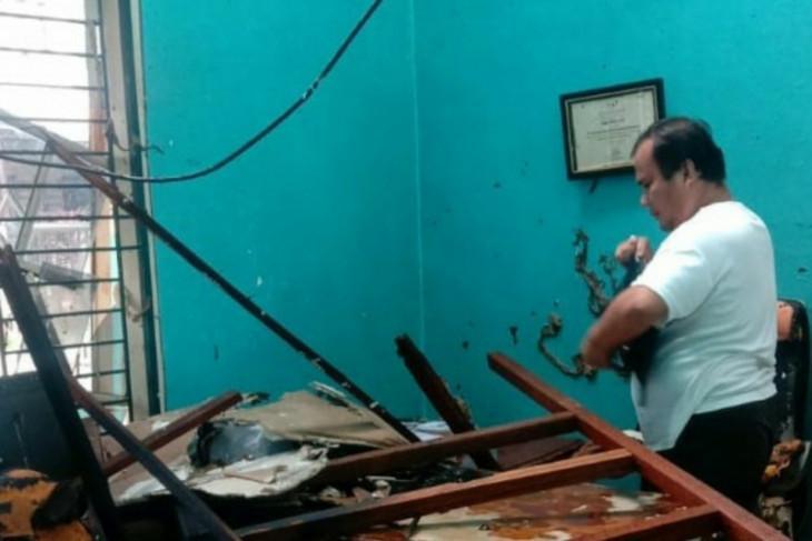 Kebakaran di Medan, satu orang mengalami luka bakar