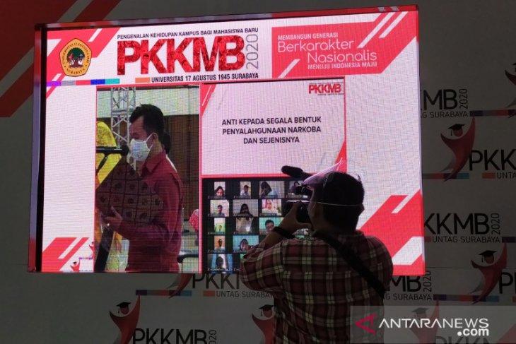 Untag Surabaya kukuhkan 3.105 mahasiswa baru secara daring