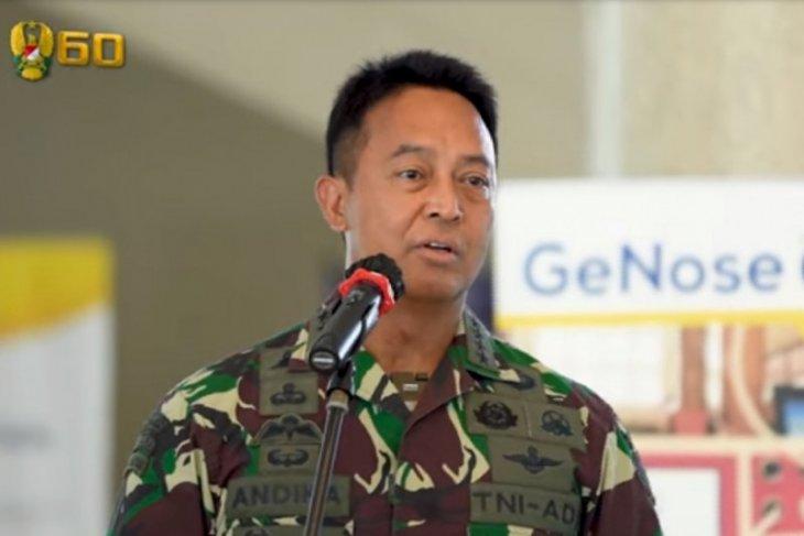 Jenderal Andika: TNI AD siap dukung segala inovasi tangani pandemi