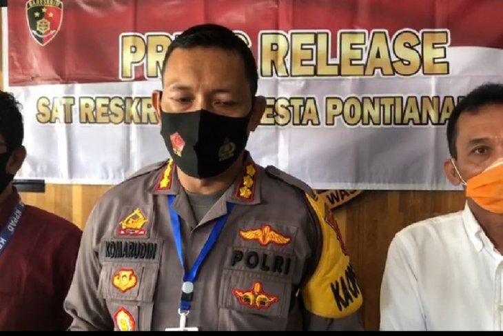 Oknum polisi di Pontianak ditetapkan tersangka kasus