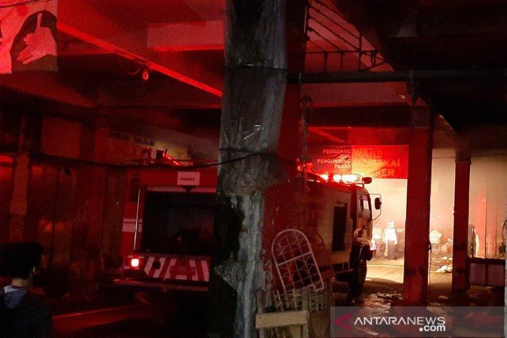 Kebakaran terjadi di Pasar Wage Purwokerto