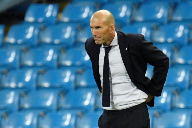 Zidane: Saya bukan pelatih yang buruk, tetapi juga bukan yang terbaik
