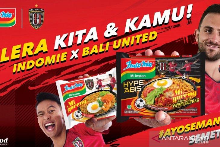 Indomie luncurkan kemasan spesial Bali United
