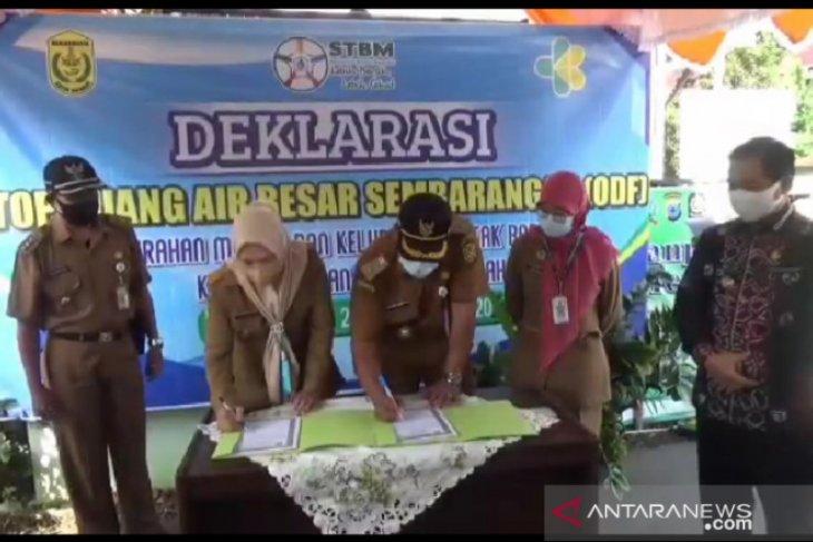 Dua kelurahan di Banjarmasin deklarasi stop BAB sembarangan