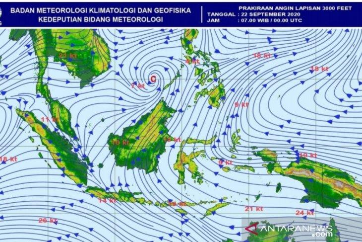 BMKG: hujan dan angin kencang berpeluang landa wilayah di Aceh