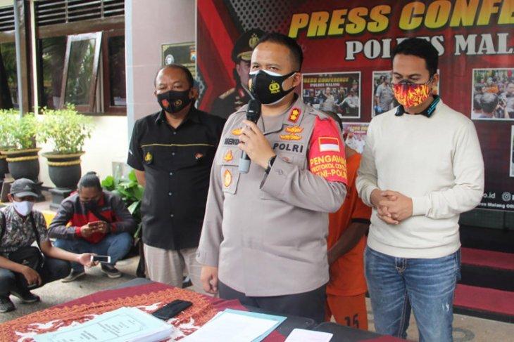 Polres Malang tangkap mantan kades diduga korupsi dana desa