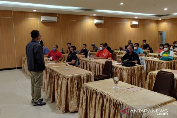 30 tenaga keolahragaan ikuti workshop pelatihan iptek