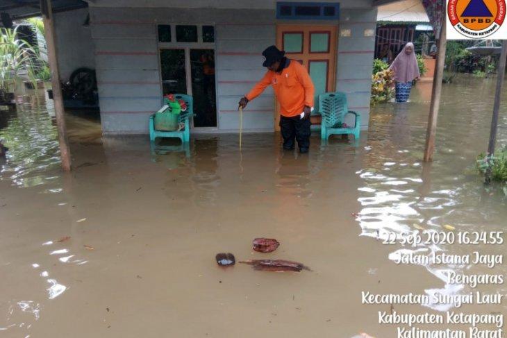 Banjir rendam 15 desa di Kabupaten Ketapang
