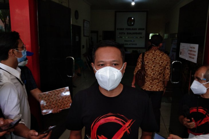 KPU Banjarbaru tetapkan tiga pasangan calon di pilwali