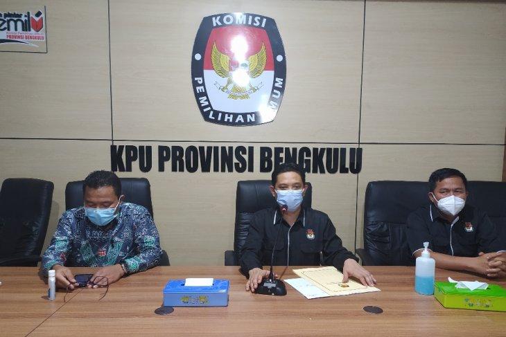 Pemilihan gubernur Bengkulu diikuti dua pasangan calon