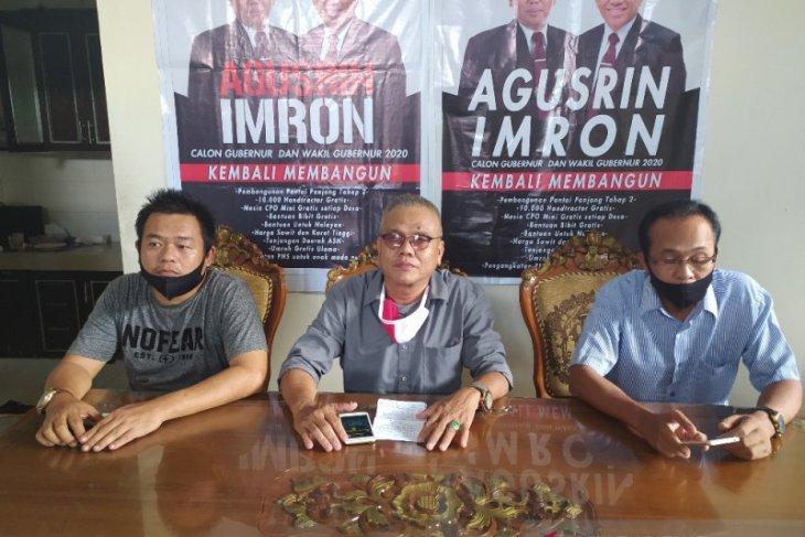 Gagal mencalon, Agusrin bakal gugat keputusan KPU Bengkulu