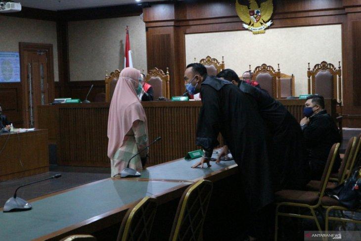 Jaksa Pinangki Malasari keberatan dengan surat dakwaan JPU di Pengadilan Tipikor