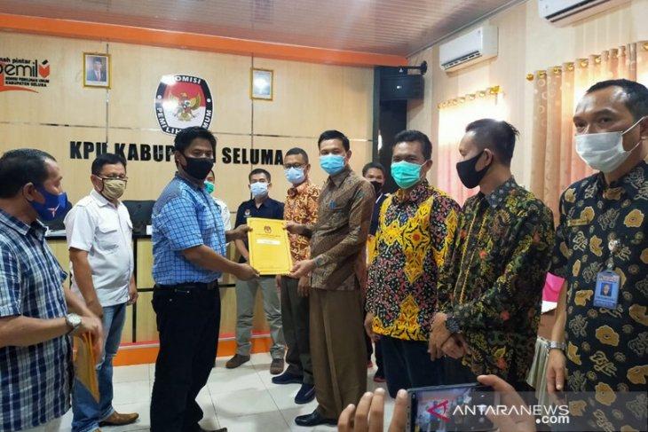 KPU Seluma tetapkan tiga pasangan calon bupati