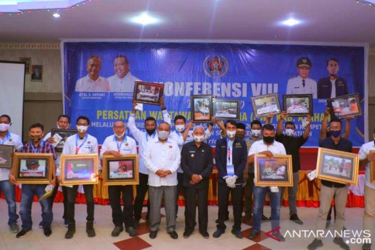 16 pemenang lomba foto PWI Asahan diumumkan dalam acara konferensi