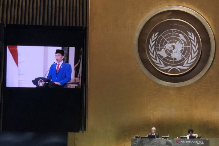 Highlighting UN role, Jokowi believes none safe until everyone is