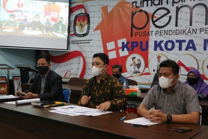 KPU tetapkan Bobby-Aulia dan Akhyar-Salman sebagai paslon Pilkada Medan