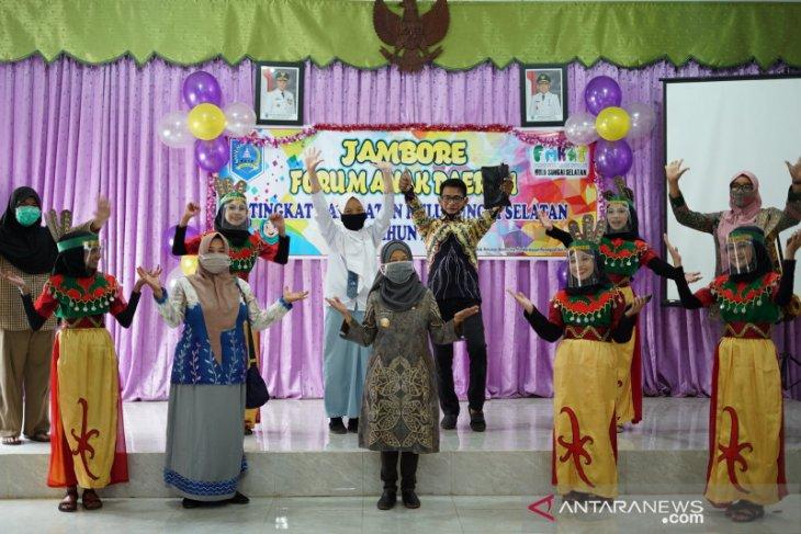 81 peserta ikuti Jambore Forum Anak Daerah HSS