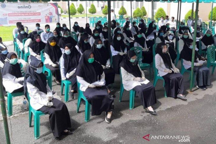 Peserta tes SKB CPNS Nagan Raya wajib pakai masker standar kesehatan