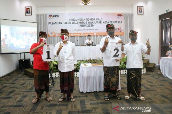 Peserta Pilkada Denpasar sepakati pakta integritas protokol kesehatan (video)
