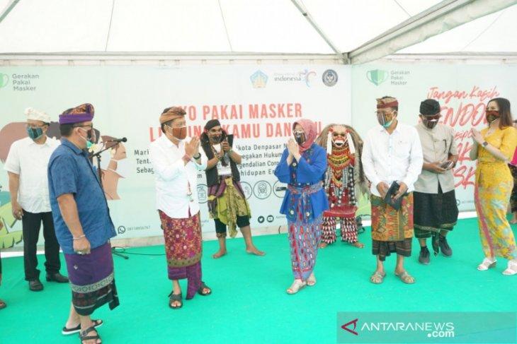Kemenparekraf-Pemkot Denpasar kampanye