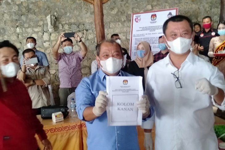 KPU tetapkan Lakhomizaro-Sowa,a paslon  tunggal Pilkada Gunungsitoli