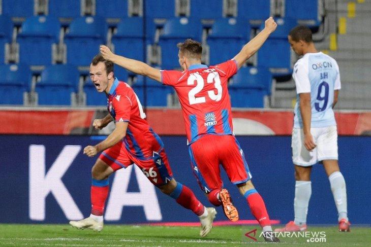 Viktoria Plzen menang 3-0 atas SonderjyskE,  melenggang ke playoff Liga Europa
