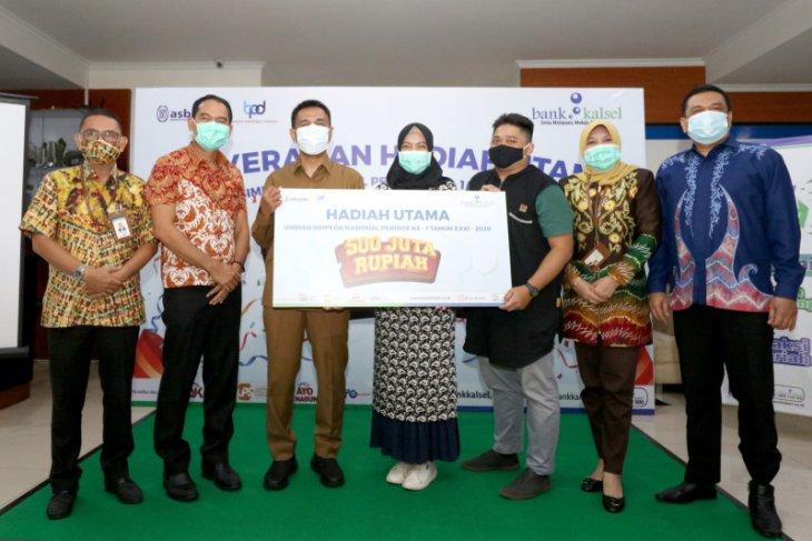 Nasabah Bank Kalsel raih hadiah utama Rp500 juta