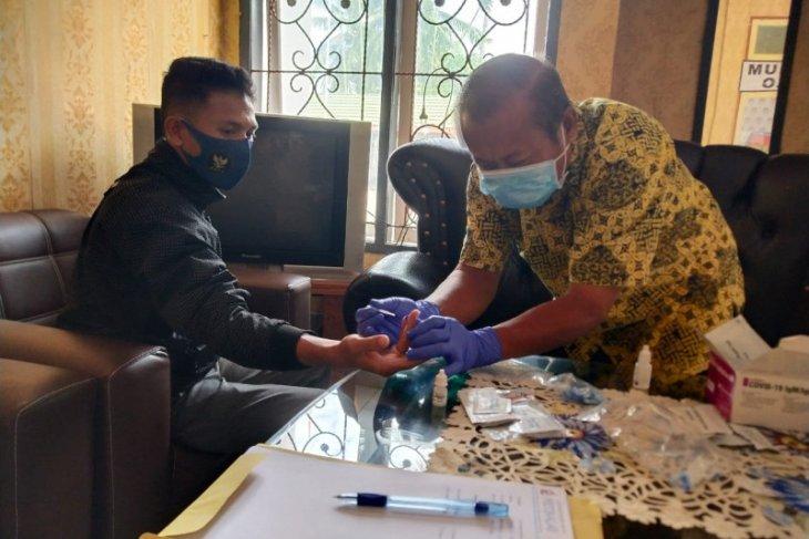 DKPP lakukan tes cepat cegah COVID-19 sebelum sidang di Gorontalo