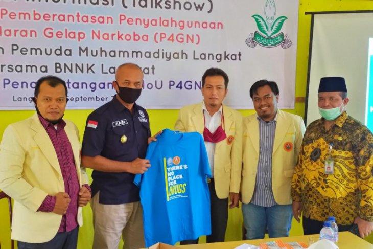 Pemuda Muhammadiyah dan BNN Langkat sepakat berantas narkotika