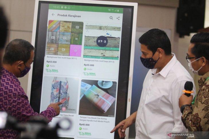 Pesanan produk UMKM Kota Kediri meningkat setelah dijual secara daring