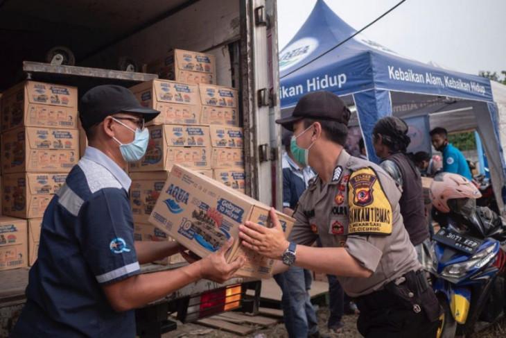Sediakan posko kesehatan, Danone-AQUA bantu korban banjir bandang Sukabumi